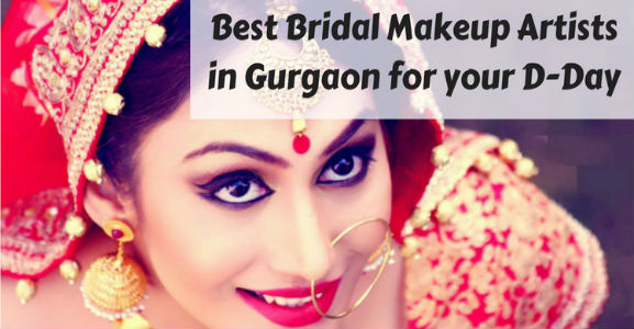 Check out these amazing Bridal Make-Up Artists in Gurgaon for your D-Day