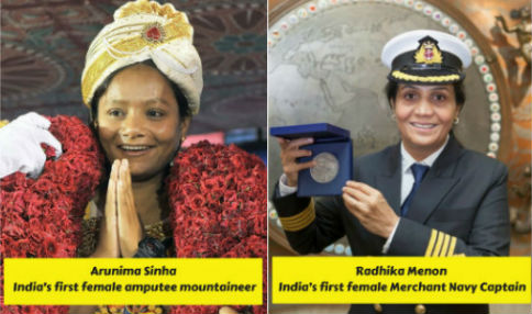 12 Indian Women Who Were Firsts In Their Fields