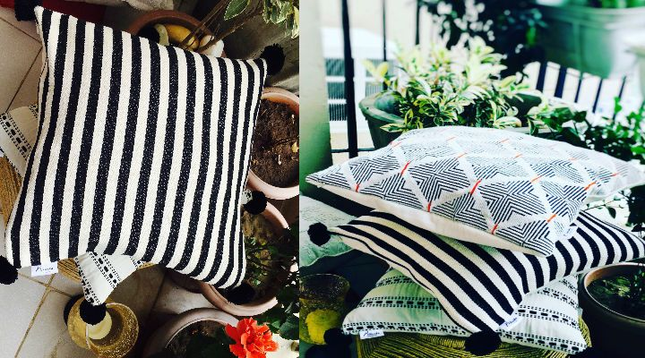 Get Designer Cushions, Exotic Lamps, Quilted Bed Covers and lot more at Prikasha