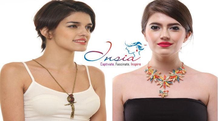 Buy Amazing Jewellery from India's only Allergy Free Statement Fashion Jewellery Line at INSIA