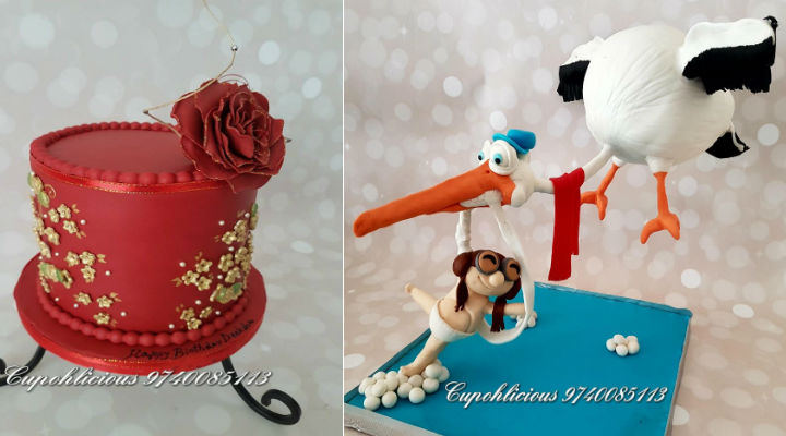 Want to Order a Cake in Bangalore? Check out the amazing cakes at Cup-oh-licious