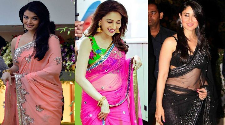 World Saree Day: Check out how Bollywood divas have revamped the saree tradition in 2017