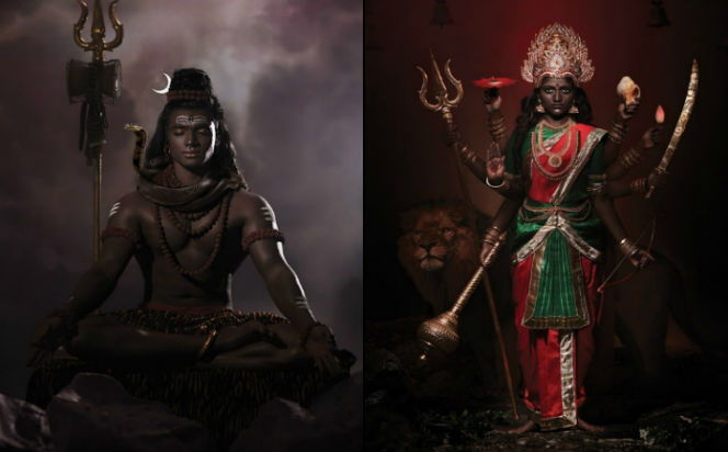 Dark is Divine: Photographers Recreate Hindu Gods & Goddesses As Dark-Skinned & It's All Kinds Of Beautiful