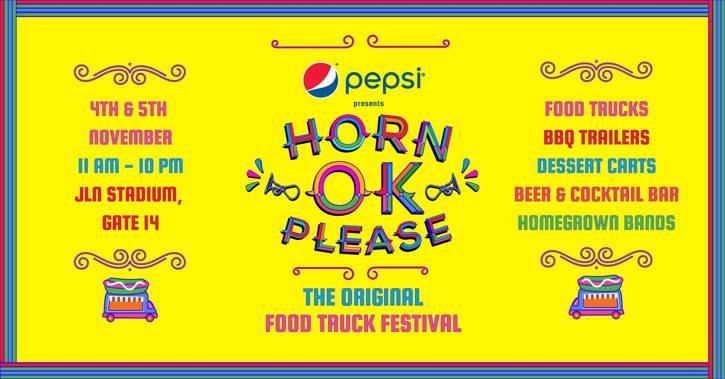 Horn OK Please – Food Truck Festival