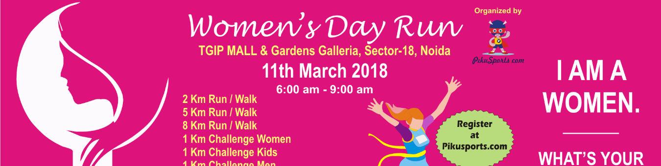 Women's Day Run in Noida