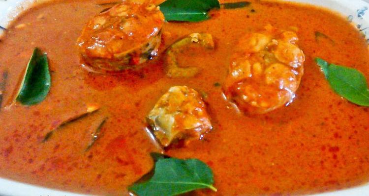 Nellore Fish Stew Recipe(Nellore Chepala Pulusu)