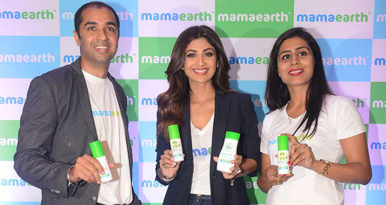 Shilpa Shetty Kundra invests $2,50,000 in Baby Care Products Startup MamaEarth