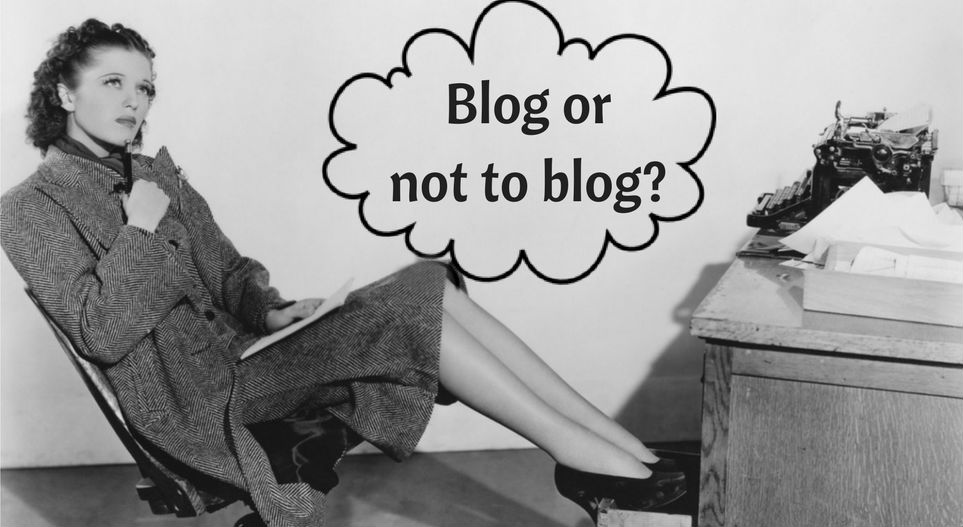 "Is blogging ""My cup of tea""??"