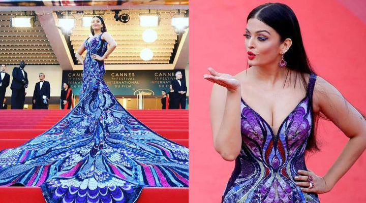 Aishwarya Rai Bachchan looks surreal in butterfly inspired gown at Cannes