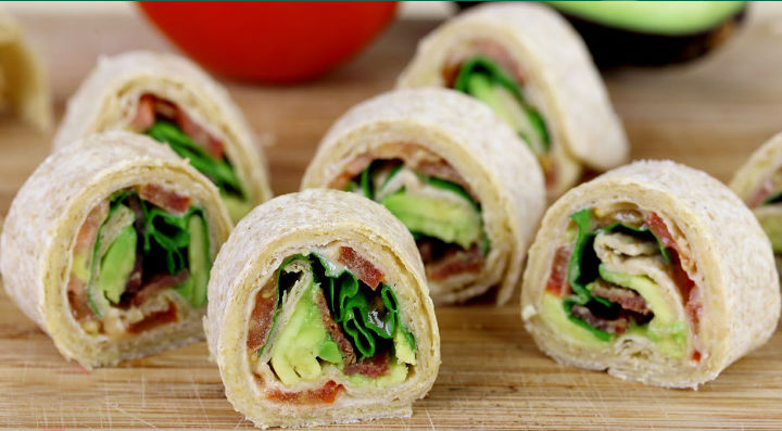 Pin Wheel Rolls :: A Healthy snack for your Kids