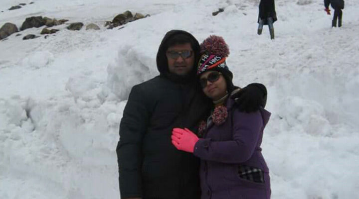 Twarita and Madhav recreated the magic of love in their relationship on their trip to Sikkim