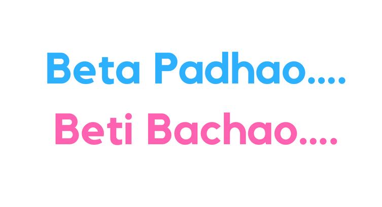 Beta Padhao…… Beti Bachao….