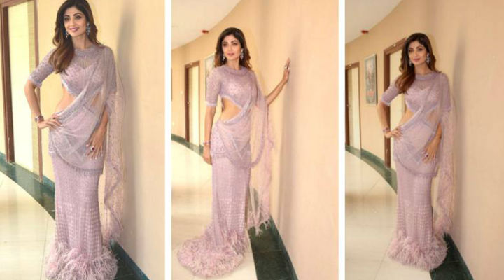19 Times Shilpa Shetty Opted For Saree-Inspired Looks In 2018