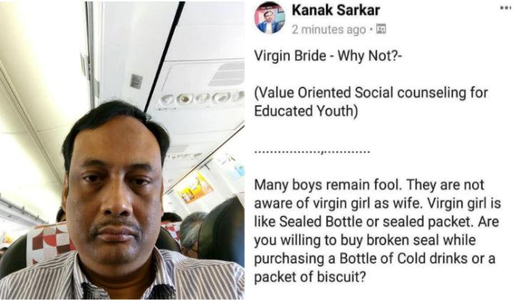 Jadavpur University Professor Compares Virgin Girls To Sealed Bottle, Deletes Facebook Post After Controversy