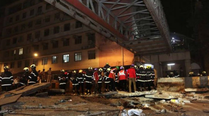 Mumbai Bridge Collapse: Foot Overbridge That Collapsed Near Mumbai's CST Was Under Repair: Eyewitnesses