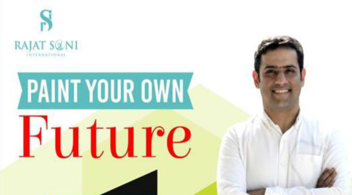"Make Your Teens Join Rajat Soni's Much Awaited ""Paint Your Own Future"" Program"