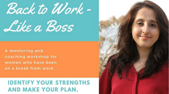 Back to work – Workshop for women – by Alpa Teli