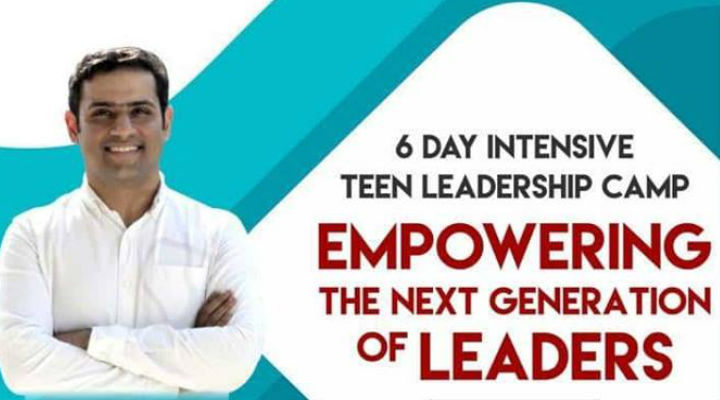 Enrol your kids in this one of a kind Teen Leadership Programme by Teen Life Coach Rajat Soni