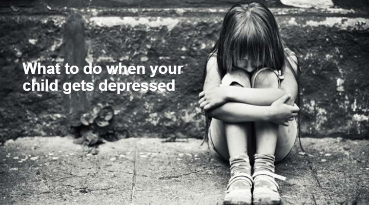 What to do when your child gets depressed