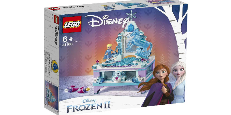 Mommies It's Time to Pamper your kids with Lego Frozen II Elsa's Jewellery Box Creation 41168