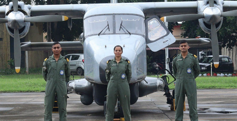 #GoodNews: First Woman Pilot of Indian Navy to Join Ops on 2 Dec