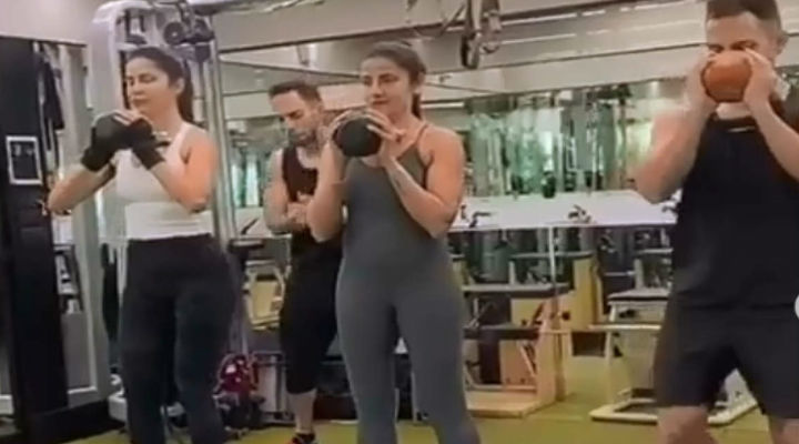 Watch: These workout videos of Katrina Kaif will amaze you!