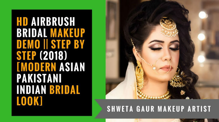 HD Airbrush Bridal Makeup TUTORIAL || Step by Step [Modern Asian Indian Bridal Look]