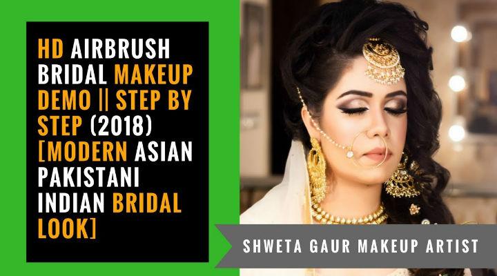 HD Airbrush Bridal Makeup TUTORIAL || Step by Step [Modern Asian Indian Bridal Look]
