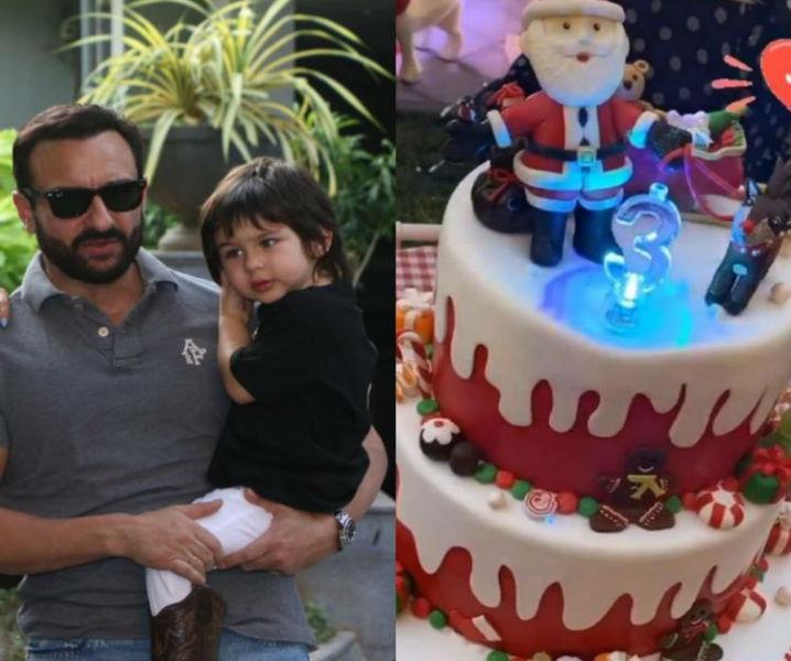 Taimur Ali Khan cutting his birthday cake with Kareena Kapoor, Saif Ali Khan & friends is adorably cute; Watch
