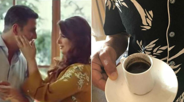 Twinkle Khanna shares pic of Akshay Kumar's failed attempt at making coffee: 'This is why I haven't asked him again'