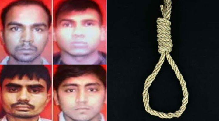 All 4 Nirbhaya case convicts to be hanged on 22 Jan