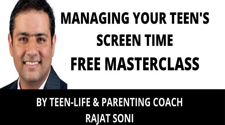 Book Your Sunday for a Free Online Parenting Masterclass on How to Manage Your Teenager's Screen Time