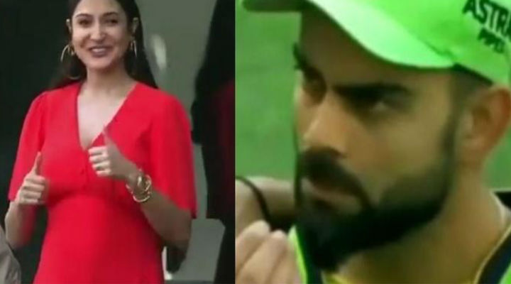 Virat asks pregnant Anushka from field if she has eaten, video surfaces