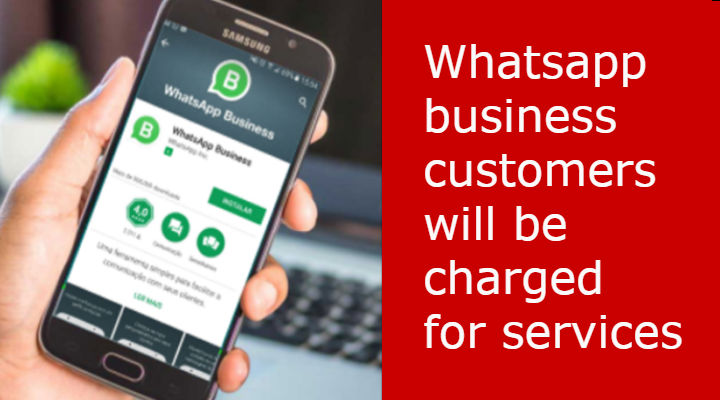 Whatsapp Business customers to be charged for services. Know details