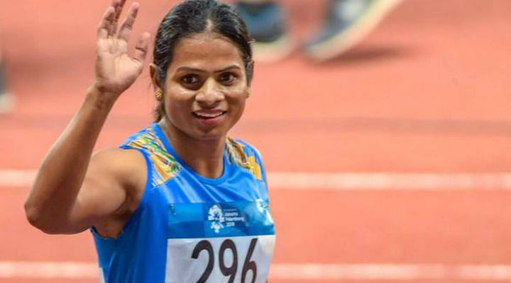 Dutee Chand awarded an 'out-of-turn promotion' by Odisha CM Naveen Patnaik
