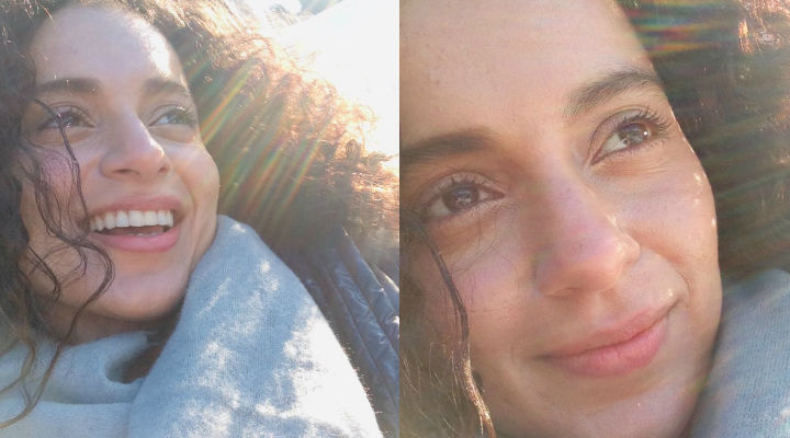 Kangana Ranaut shares early morning sun-kissed photos from Manali