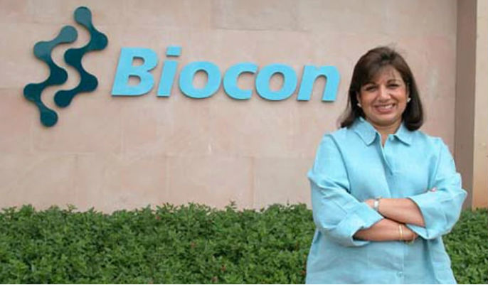 Kiran Mazumdar Shaw's Biocon Biologics to raise Rs $150 mn from Goldman Sachs