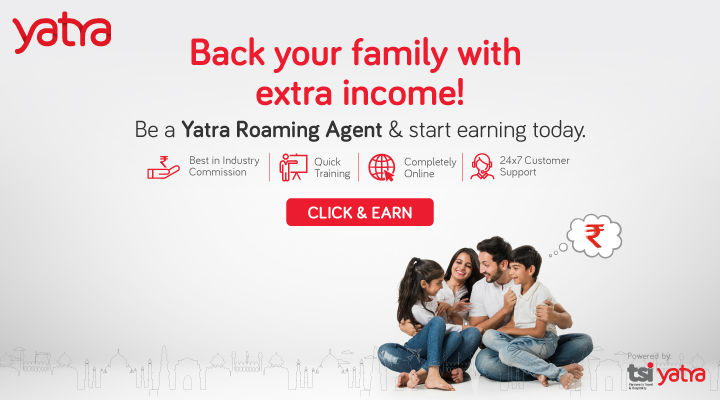Roaming Agent Work From Home job at Yatra for Women