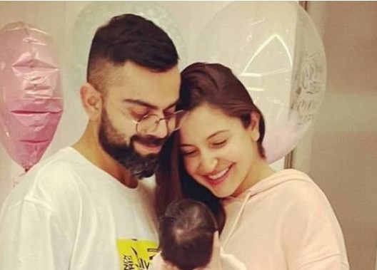 Anushka Sharma And Virat Kohli Share First Image Of Daughter Vamika