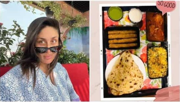 Pregnancy cravings! Kareena Kapoor Khan opts for biryani and kebabs for meal