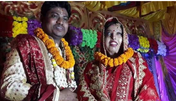 Odisha acid-attack survivor marries long-time friend, recalls journey to 'best day of her life'