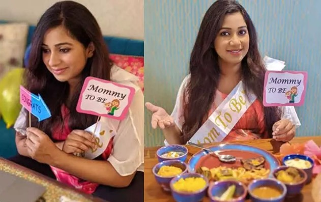 Mom-to-be Shreya Ghoshal gives a glimpse of her online surprise baby shower