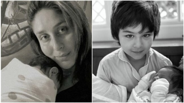 Kareena Kapoor Khan shares FIRST photo of younger son with Taimur on Mother's Day