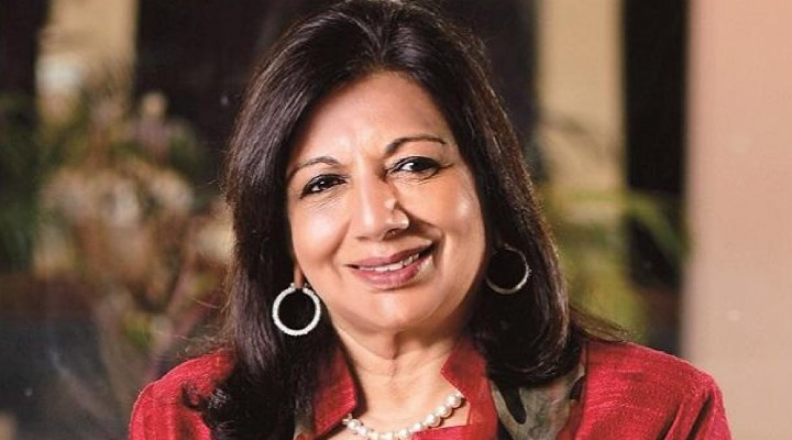 Covid second wave has hit India 'like a tsunami' says Kiran Mazumdar Shaw