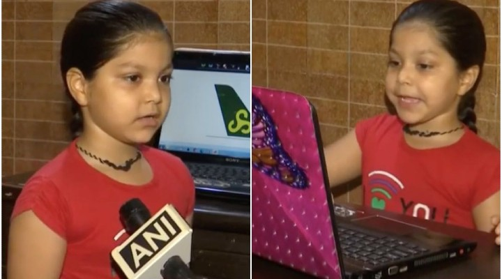 Haryana: 6-yr-old girl sets world record by identifying 93 aeroplane tails