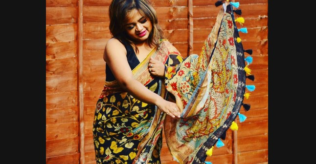 How saree could be an apt attire even in monsoon (Tricks of draping)