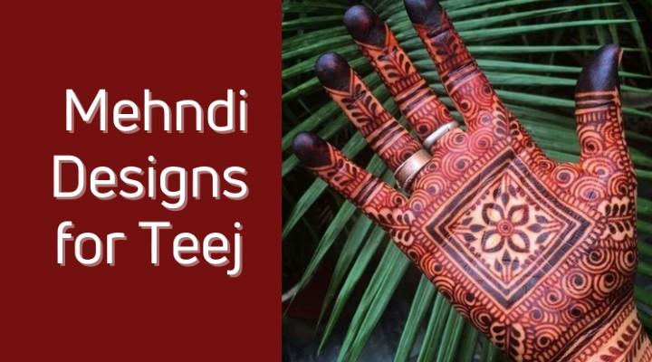 Mehendi Designs, You Should Try This Teej