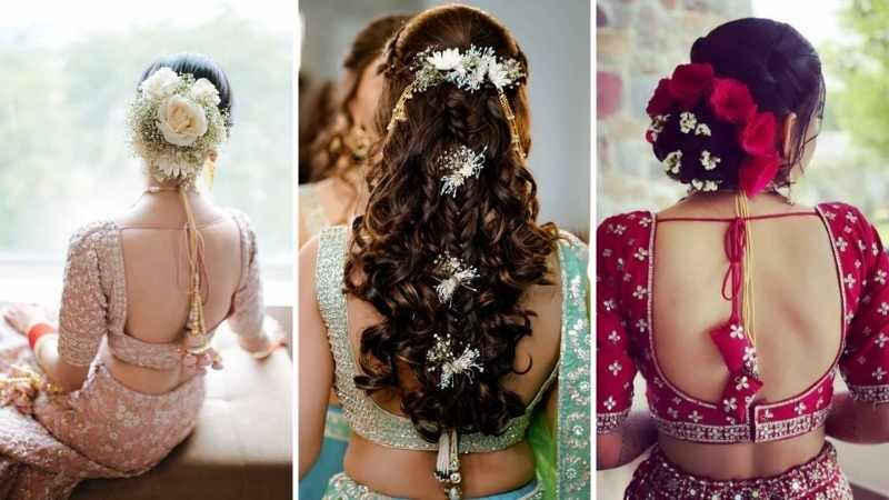 80 Bridal Hairstyles For Indian Brides