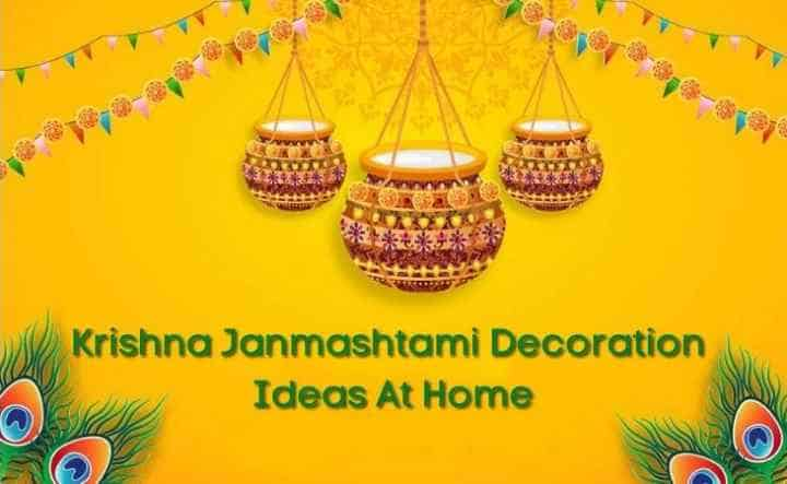 Krishna Janmashtami decoration ideas at home