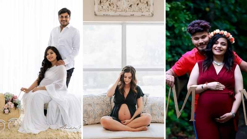 71+ Amazing Maternity Photoshoot Ideas for Indian parents